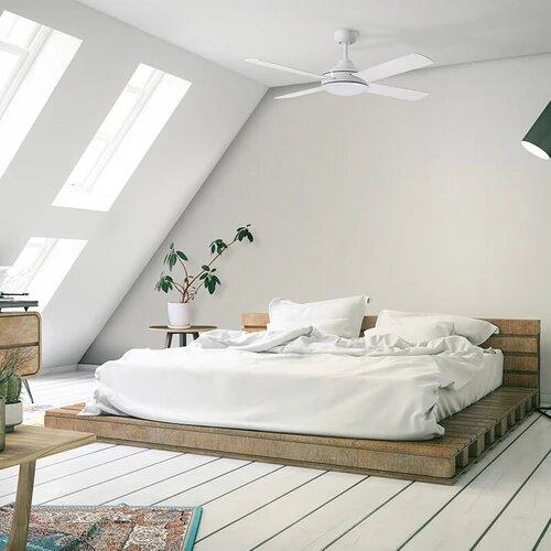 Ventilador de techo ECOFAN Brother - 122cm / AC / Aspas madera plywood