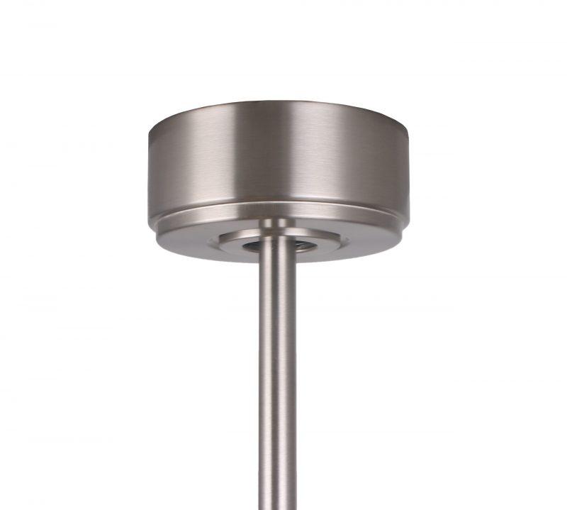 Ventilador de techo sin luz MARTEC Mallorca - 132cm / DC / Aspas de madera nogal